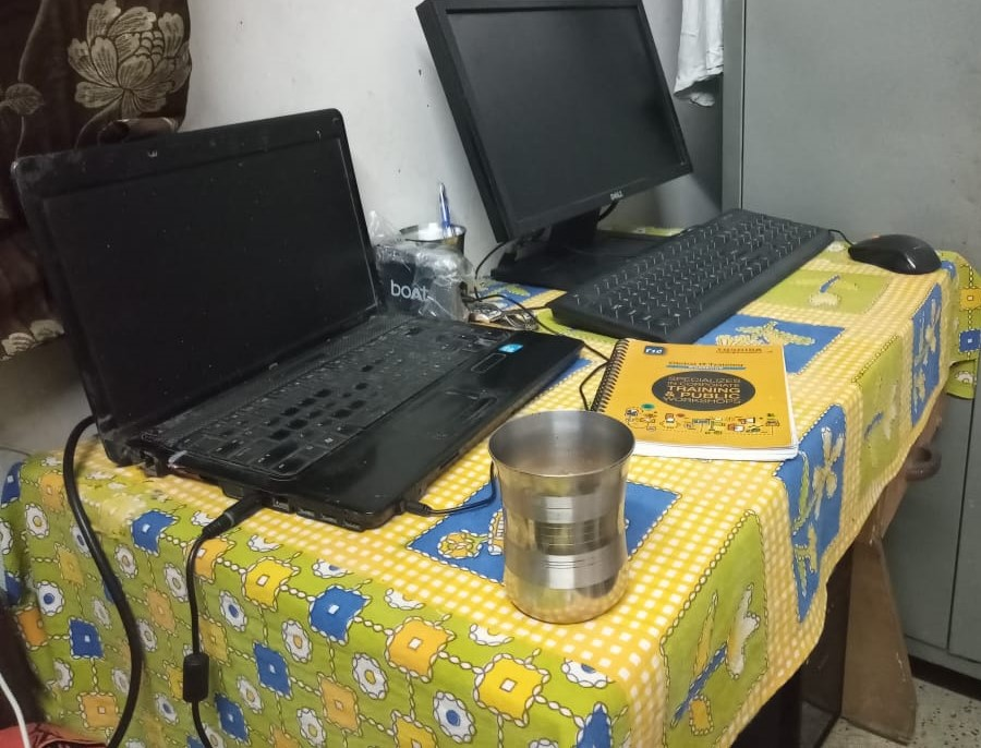 Hemant Singh Office - Work From Home