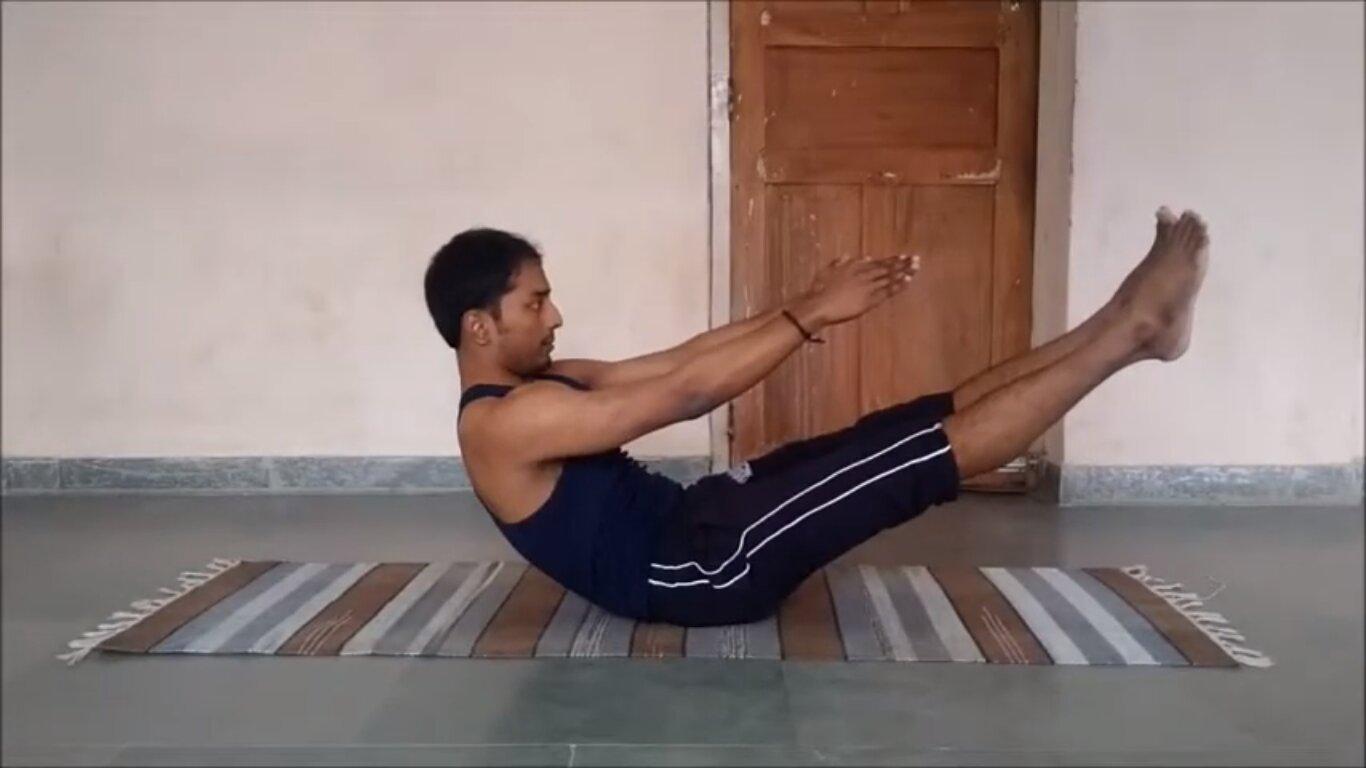 Naukashan Yoga for Diabetic patients