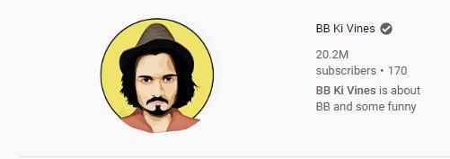 BB Ki Vines Indian YouTuber
