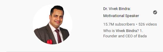 Dr Vivek Vindra