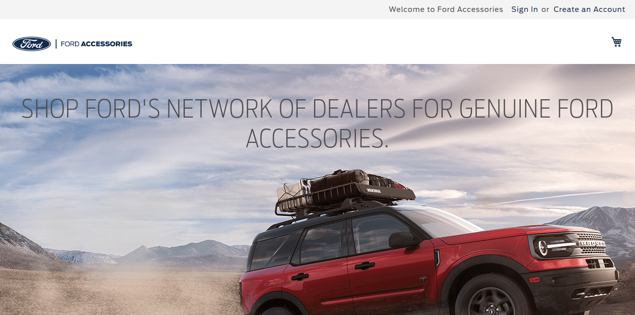 Ford Magento Store