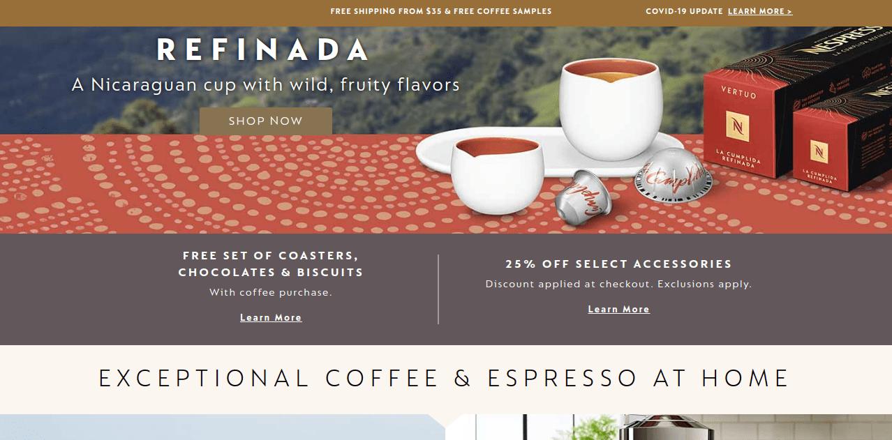 Nespresso Online Store